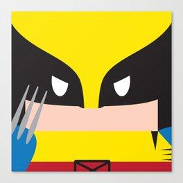 WolverineBlock Canvas Print
