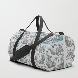 Joyful squirrels - GREY Duffle Bag