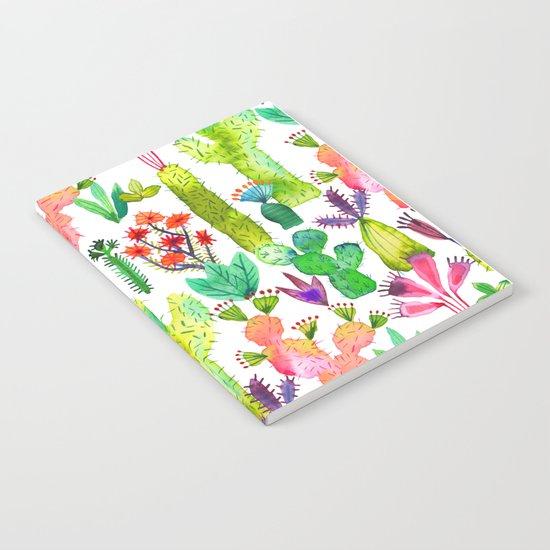 Cacti garden Notebook