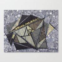 fibonacci Canvas Prints featuring fibonacci by ephemerality