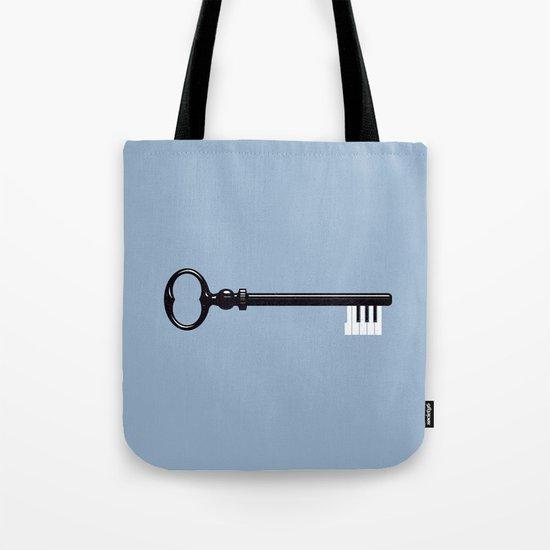 The Key. Tote Bag