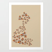 wind Art Prints featuring Wind by LindsayMichelle