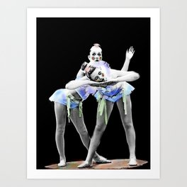 Dancers 1ne Art Print