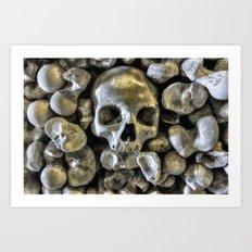 Bone Head Art Print