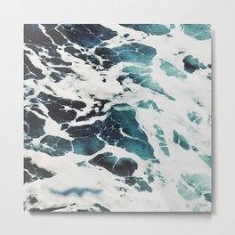 Drama waves Metal Print