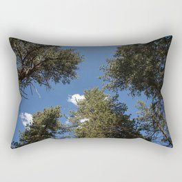 Angelus Oaks Forest and Sky Rectangular Pillow