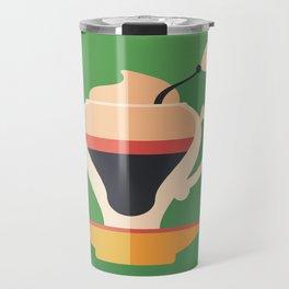 Cup of Latte Travel Mug