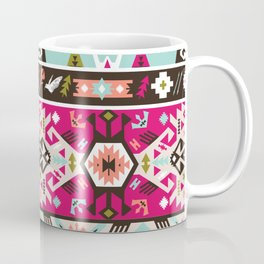 Fancy abstract geometric pattern in tribal style Coffee Mug