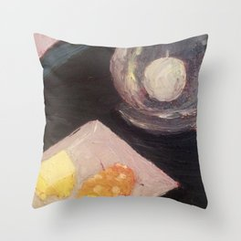 Buttered Corn Throw Pillow