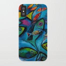 Plenty of fish in the sea iPhone Case