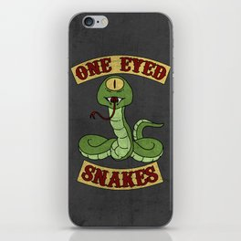 One Eyed Snakes iPhone Skin