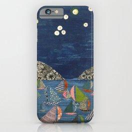 night sailing iPhone Case