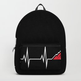 Austria Mountain Heart rate curve Backpack