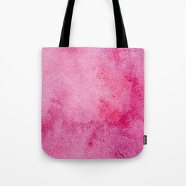 Pink marble watercolor texture Tote Bag