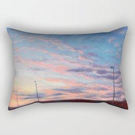 Freeway sunset Rectangular Pillow