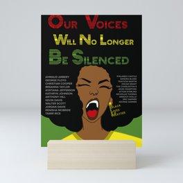 Black Lives Matter (ALT) Mini Art Print