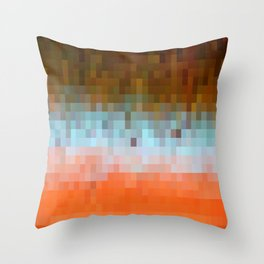 Nature Pixels No1 Throw Pillow