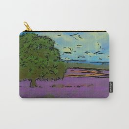 Lovely Lavender Fields Carry-All Pouch