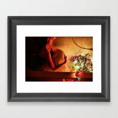 Drown in Lights Framed Art Print