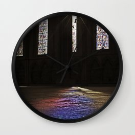 Towards the Light Wall Clock