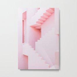 Stair mazes Metal Print