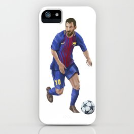Messi 10 - Football iPhone Case