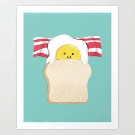 Morning Breakfast Art Print