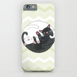 Cat Philosophy iPhone Case