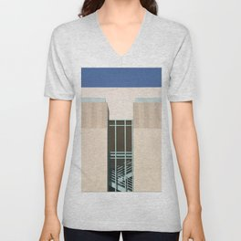 Stairs Tower Unisex V-Neck