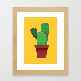 Summer Cactus Framed Art Print