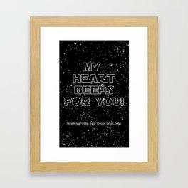 Star Crossed lovers 2 Framed Art Print