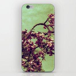 Redscale Blossom iPhone Skin