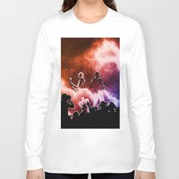 u2 Long Sleeve T-shirts featuring U2 / Adam Clayton / The Edge by JR van Kampen