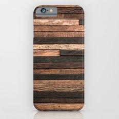 Vintage Wood Plank Slim Case iPhone 6s