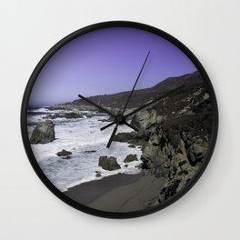 Purple Haze (Garrapata State Park) Wall Clock