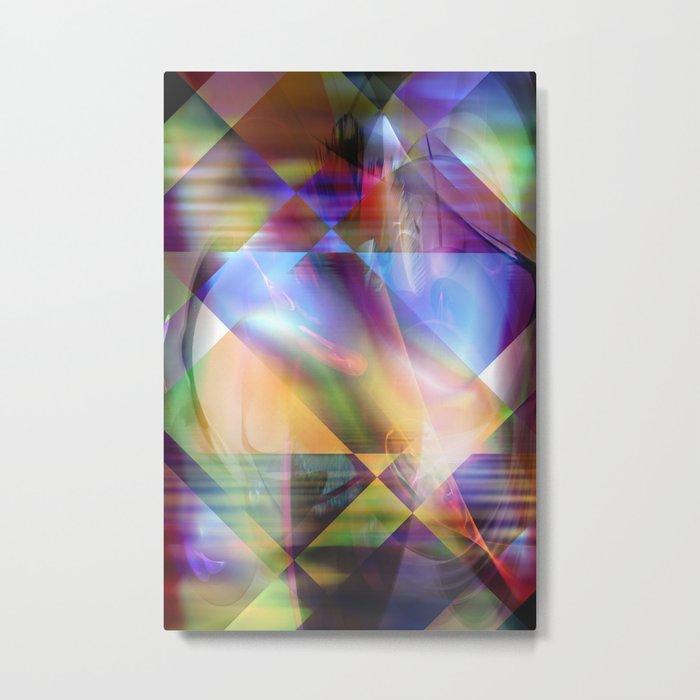 Vision X Metal Print