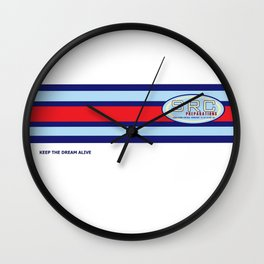 SRC Preparations Wall Clock