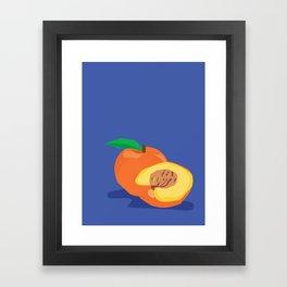 Peachy Peach Framed Art Print