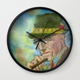 Fedora Wall Clock
