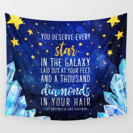 Star and Diamonds Wall Tapestry