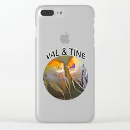 VAL & TINE ANGELS Clear iPhone Case
