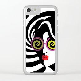 Hypnotize me Clear iPhone Case