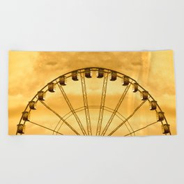Carnival Cryptography Beach Towel