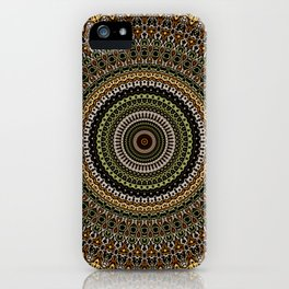 Fractal Kaleido Study 001 in CMR iPhone Case