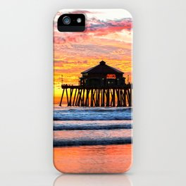 HB SUNSETS  Monsoon Skies iPhone Case