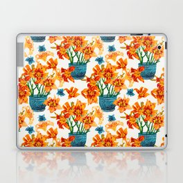 Lily Blossom Laptop & iPad Skin