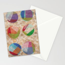 Layered Dots Stationery Cards
