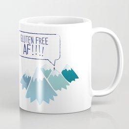 Gluten-Free AF Mountain Top Coffee Mug