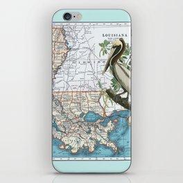 Louisiana iPhone Skin