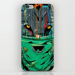 Wolf Mother - Screen Print Edition  iPhone Skin